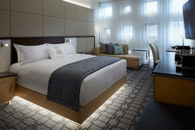 2 Room with window A Rich Heritage Reborn in a New Light: Le Mount Stephen A Jewel of a Luxury Hotel in Montreal - EAT LOVE SAVOR International luxury lifestyle magazine and bookazines
