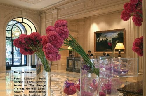 George V Paris Luxury Romantic Getaways at the Four Seasons Hotels - EAT LOVE SAVOR International luxury lifestyle magazine, bookazines & luxury community