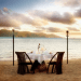romantic setting table for two on beach Recipe Box: Romantic Meal for Two - EAT LOVE SAVOR International luxury lifestyle magazine, bookazines & luxury community