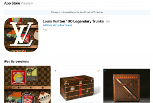 louis vuitton trunks app Vintage Luggage: The Louis Vuitton Trunk - EAT LOVE SAVOR International luxury lifestyle magazine and bookazines