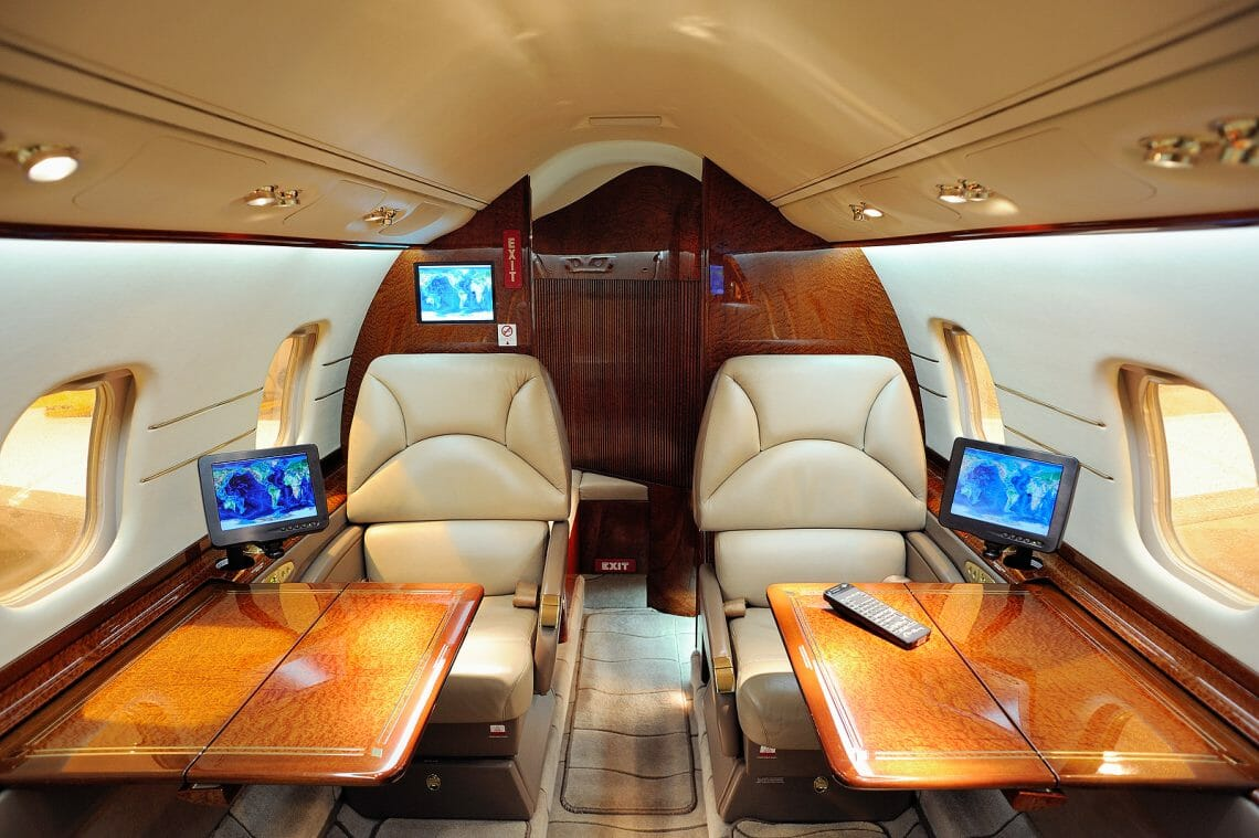 Interior Of Private Jet Airplane 5227241 Discover: Private Jets: The Luxurious Way to Fly - EAT LOVE SAVOR International Luxury Lifestyle Magazine