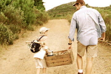 Father and Son Adventure History of Father's Day and Global Celebrations of Fatherhood - EAT LOVE SAVOR International luxury lifestyle magazine, bookazines & luxury community