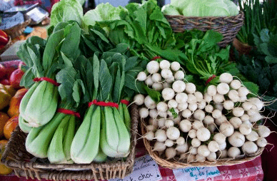 organic vegetables at farmers market Rediscover: Summer Farm Markets - EAT LOVE SAVOR International luxury lifestyle magazine and bookazines