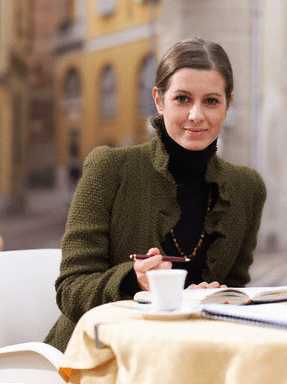 Elegant woman writing in journal DISCOVER: The Art of Journaling - EAT LOVE SAVOR International luxury lifestyle magazine and bookazines