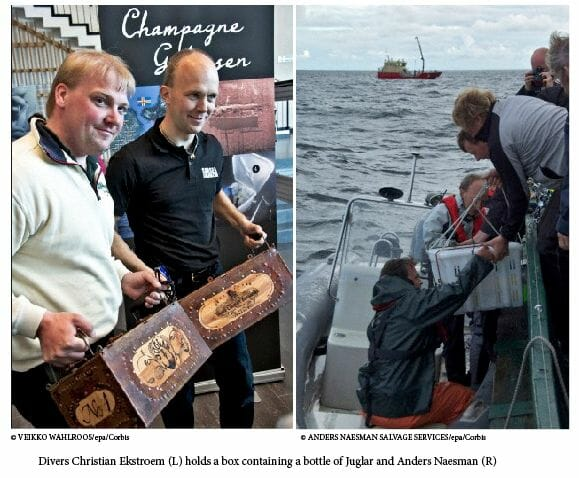Sale of worlds most expensive champage finland The Mystery is Solved: The Most Expensive Champagne in the World was Purchased - EAT LOVE SAVOR International luxury lifestyle magazine and bookazines