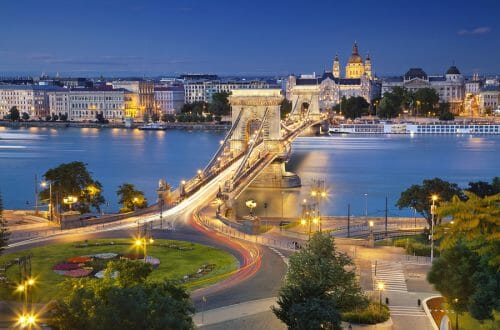 Budapest Hungary twilight Destination: Hungary - EAT LOVE SAVOR International luxury lifestyle magazine and bookazines