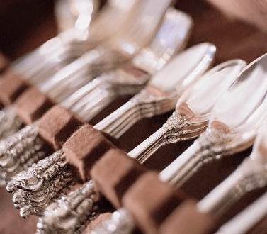set of silverware Rediscover: Sterling Silver - EAT LOVE SAVOR International luxury lifestyle magazine, bookazines & luxury community