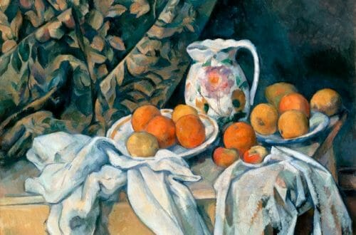 still life with a curtain cezanne Discover Master Artist: Cézanne - EAT LOVE SAVOR International luxury lifestyle magazine, bookazines & luxury community