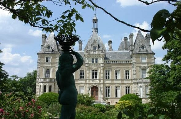 19th century castle near france Discover: A Peek at Castle Life in France - EAT LOVE SAVOR International Luxury Lifestyle Magazine
