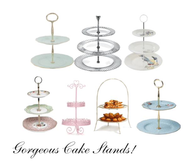 cake stands For the Love of: Afternoon Tea Cake Stands - EAT LOVE SAVOR International luxury lifestyle magazine, bookazines & luxury community