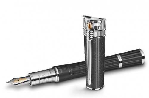 Montblanc Statue of Liberty Fountain Pen High Res Montblanc Statue of Liberty Artisan Edition Fountain Pen - EAT LOVE SAVOR International luxury lifestyle magazine and bookazines
