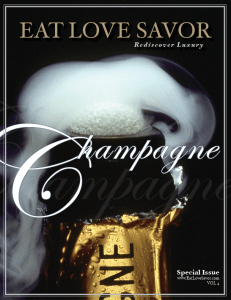 champagne issue vol 4 cover luxury lifestyle magazine