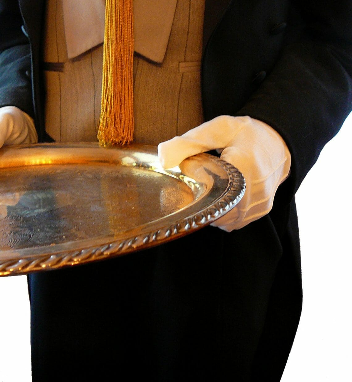 Butler With Silver Platter 1629788 How to Hire Domestic Help - EAT LOVE SAVOR International Luxury Lifestyle Magazine