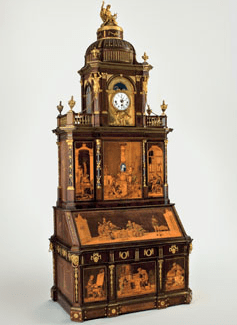 Abraham and David Roentgen furniture metmuseum Magnificent 18th–Century Mechanical Furniture by Abraham and David Roentgen on View at Metropolitan Museum - EAT LOVE SAVOR International luxury lifestyle magazine, bookazines & luxury community