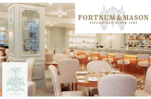 fortnum and mason the fountain DISCOVER: Fortnum and Mason. Purveyors of High Quality Goods Since the 1700's - EAT LOVE SAVOR International Luxury Lifestyle Magazine