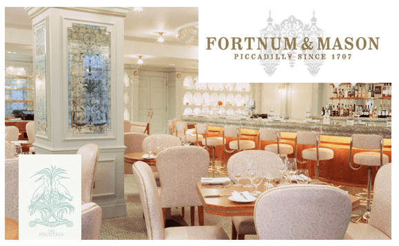 fortnum and mason the fountain DISCOVER: Fortnum and Mason. Purveyors of High Quality Goods Since the 1700's - EAT LOVE SAVOR International luxury lifestyle magazine, bookazines & luxury community