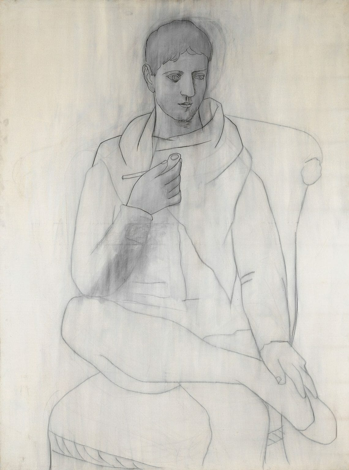 man with pipe picasso The Art of Picasso. Works in Black & White - EAT LOVE SAVOR International luxury lifestyle magazine and bookazines