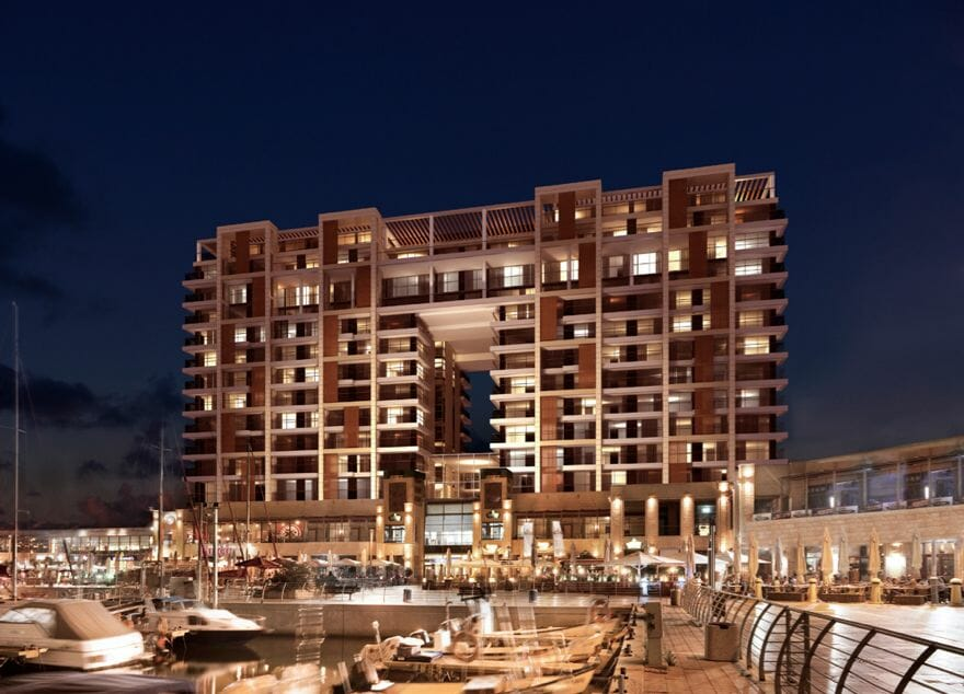 RitzCarlton isreal view by night The Residences at The Ritz-Carlton, Herzliya launch their first luxury holiday apartments on the Mediterranean coast in Israel - EAT LOVE SAVOR International Luxury Lifestyle Magazine