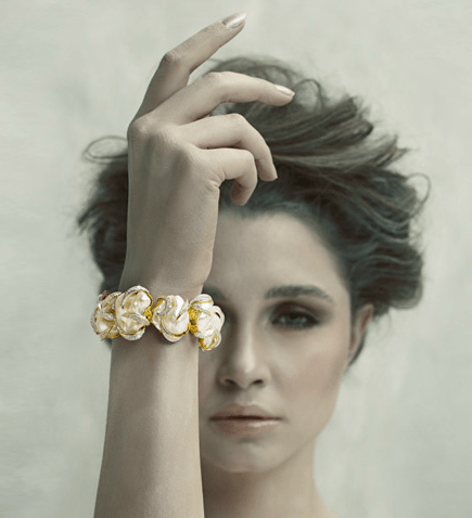 Bina Goenka bracelet PROFILE: International Luxury Jewellery Designer, Bina Goenka, Creates Timeless Masterpieces To Be Treasured - EAT LOVE SAVOR International luxury lifestyle magazine, bookazines & luxury community