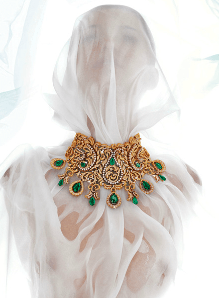 Bina Goenka necklace1 PROFILE: International Luxury Jewellery Designer, Bina Goenka, Creates Timeless Masterpieces To Be Treasured - EAT LOVE SAVOR International luxury lifestyle magazine, bookazines & luxury community