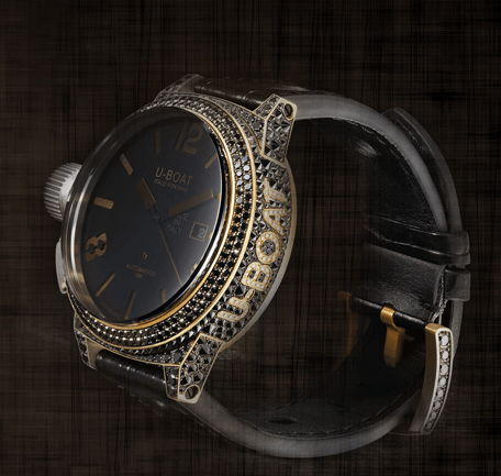 uboat black swan timepiece Tips for Women on Selecting Fine Watches for Men - EAT LOVE SAVOR International luxury lifestyle magazine, bookazines & luxury community