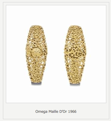 Omega Maille D'Or 1966 Omega Gets Styled by Designer Gilbert Albert - EAT LOVE SAVOR International luxury lifestyle magazine, bookazines & luxury community