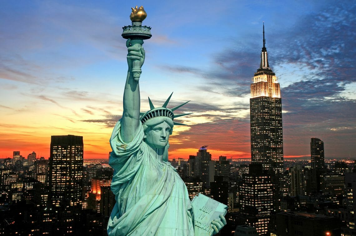bigstock The Statue Of Liberty And New 2493448 Walking Tours of New York: A Great Way to Discover the City. - EAT LOVE SAVOR International Luxury Lifestyle Magazine