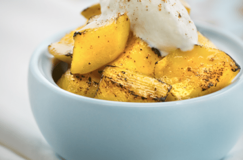 summer mango with nutmeg Recipe: Summer Mangos with Nutmeg - EAT LOVE SAVOR International luxury lifestyle magazine and bookazines