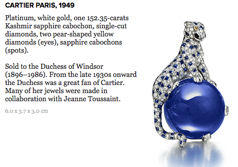 panther clip brooch cartier DISCOVER: Legendary Cartier Director of Luxury Jewelry, Jeanne Toussaint - EAT LOVE SAVOR International luxury lifestyle magazine, bookazines & luxury community