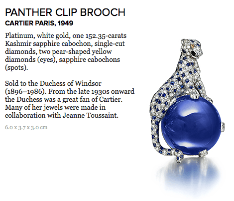panther clip brooch cartier