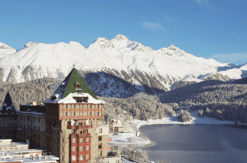 Badrutts palace st moritz switzerland A Legendary Bet Gives Rise to 150 Years of Winter Tourism in the Swiss Alps: Badrutt's Palace - EAT LOVE SAVOR International Luxury Lifestyle Magazine