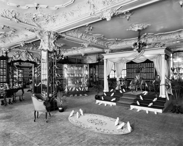 Harrods shoe department 1919