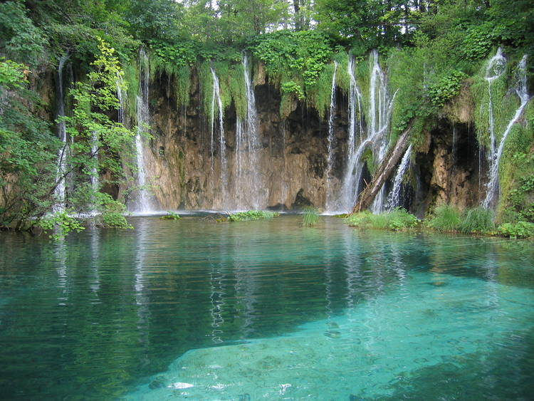 Plitvice Lakes National Park waters
