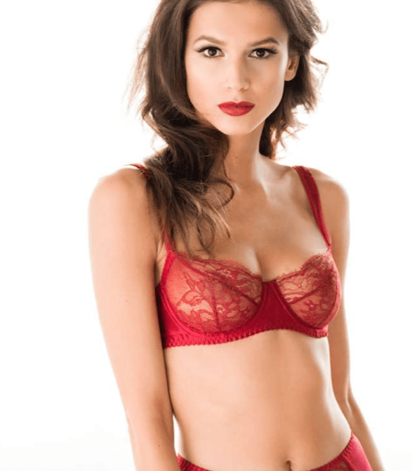 fleur of england Red Luxury Lingerie Collection: Amour from Fleur of England - EAT LOVE SAVOR International Luxury Lifestyle Magazine