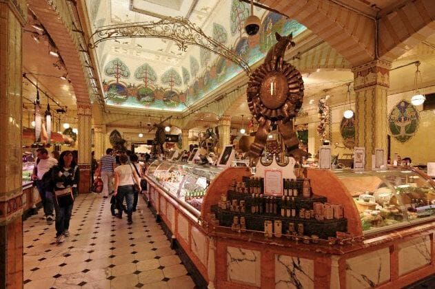 food hall in Harrods
