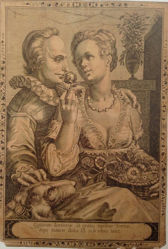 perfume 16th century engraving