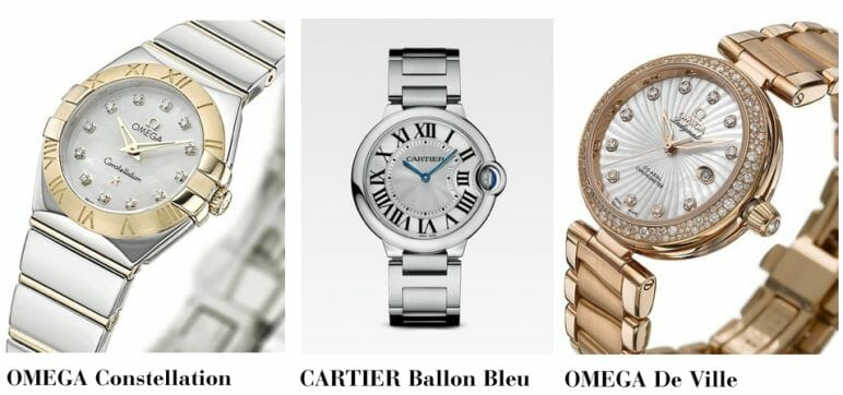 top 3 womens luxury watches