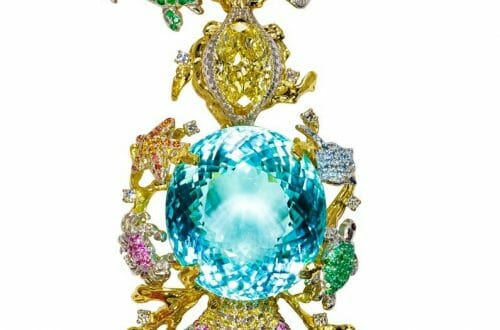 touramaline necklace.jpg large Her Name is Ethereal Carolina Divine Paraiba and She is is Flawless: All 191.87 Carats of Her! - EAT LOVE SAVOR International luxury lifestyle magazine and bookazines