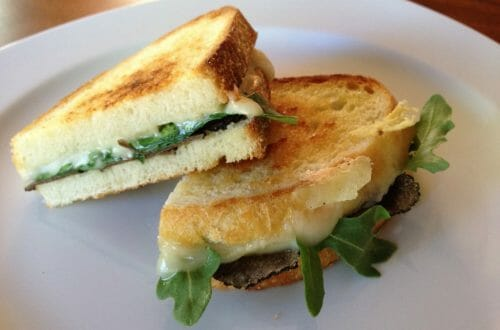Grilled Cheese with Truffle Oil 1024x768 Recipe: Grilled Cheese with Truffle Oil, Arugula and Summer Truffles - EAT LOVE SAVOR International luxury lifestyle magazine and bookazines