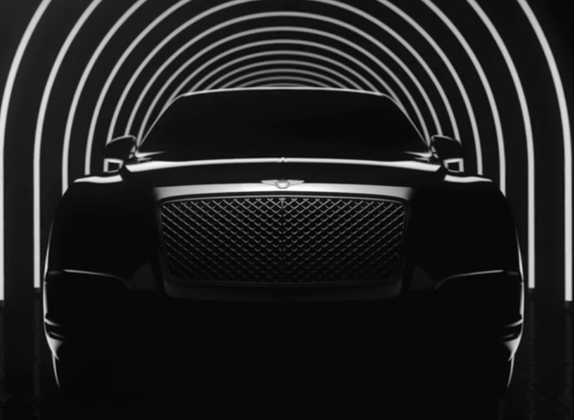 bentley suv teaser The #NewBentley SUV - The Shape of Things to Come from Bentley - EAT LOVE SAVOR International Luxury Lifestyle Magazine