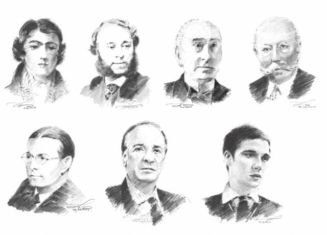 seven generations of the house of creed