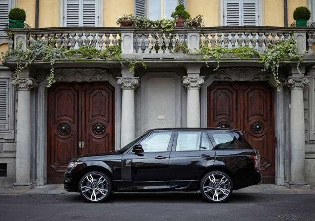 ARES range rover