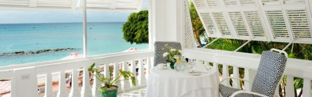 cobblers cove room with an ocean view