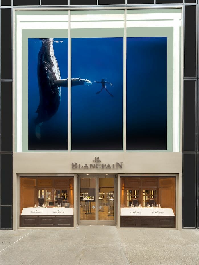 blancpain nyc entrance Blancpain NYC Boutique Blends Rich Heritage, Personality and Technology - EAT LOVE SAVOR International Luxury Lifestyle Magazine