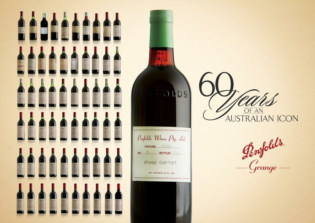 60 years penfolds dubai World's Most Complete And Unique Collection Of Grange Wine Spanning 60 Years Launched By Le Clos In Dubai - EAT LOVE SAVOR International Luxury Lifestyle Magazine