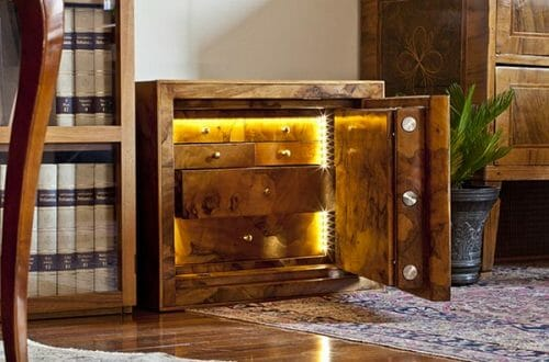 conforti safe Conforti Exclusive Safes in Briar-Root: A Style of Security Dating Back to the Renaissance - EAT LOVE SAVOR International luxury lifestyle magazine, bookazines & luxury community