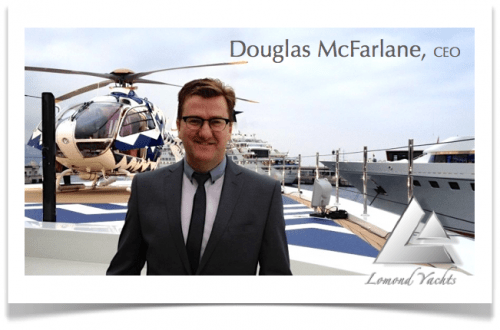 douglas mcfarlane lomond yachts Interview: with Douglas McFarlane, CEO of Lomond Yachts and Top 5 Tips for Buying a Yacht - EAT LOVE SAVOR International luxury lifestyle magazine and bookazines