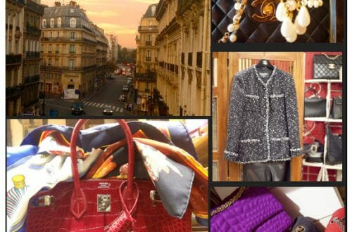 les 3 marches de catherine b Luxury Brief: Two Decades of Vintage Chanel and Hermès in Paris - EAT LOVE SAVOR International luxury lifestyle magazine and bookazines
