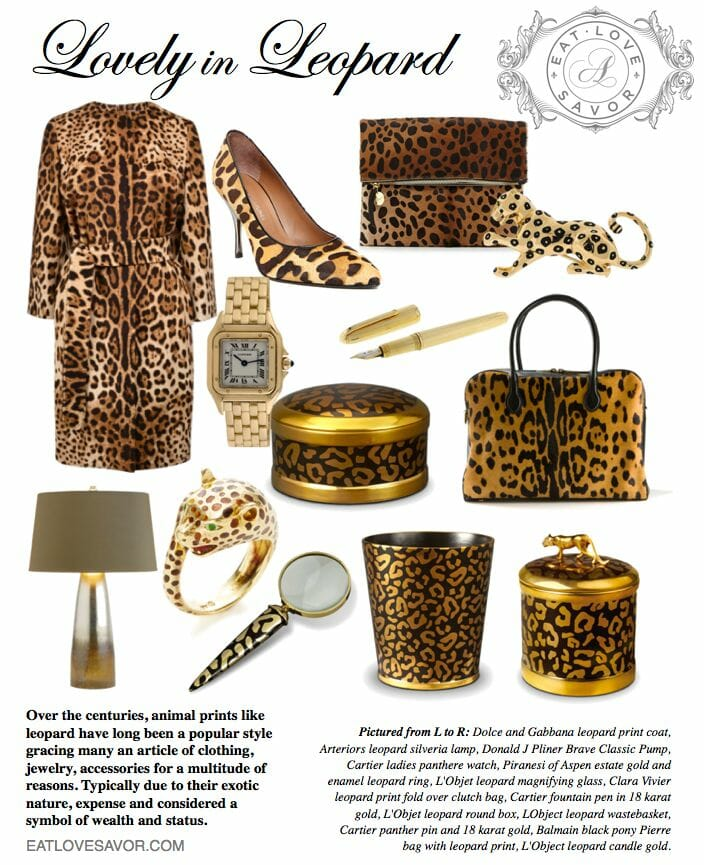 lovely in leopard editorial