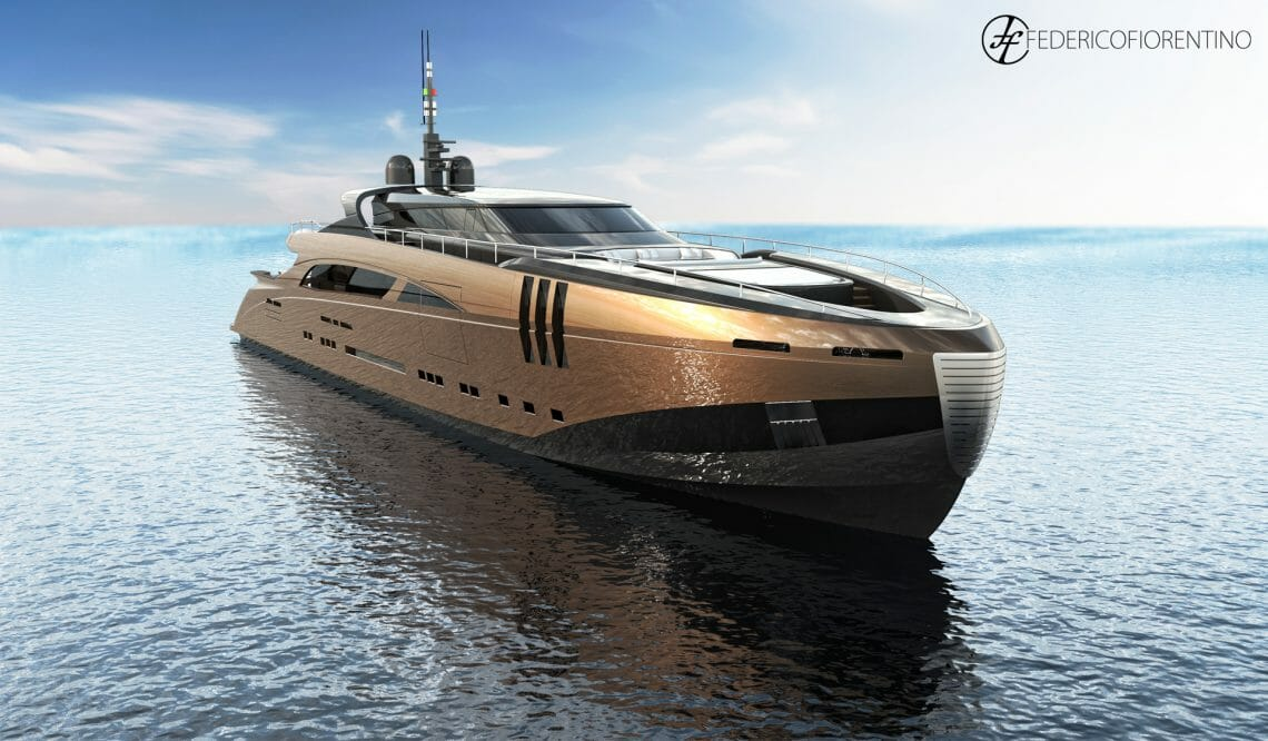 "Federico Fiorentino The Belafonte 2 The Belafonte, a 50 meter ""modern classic"" new concept yacht by Federico Fiorentino - EAT LOVE SAVOR International luxury lifestyle magazine, bookazines & luxury community"
